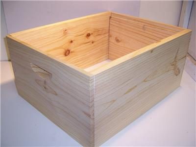 Hive Body unassembled   - 8 frame full depth rebated box