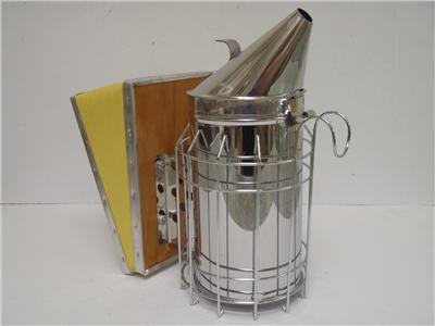 Smoker - 10 cm stainless steel