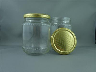 Honey container - 500 gm glass jar