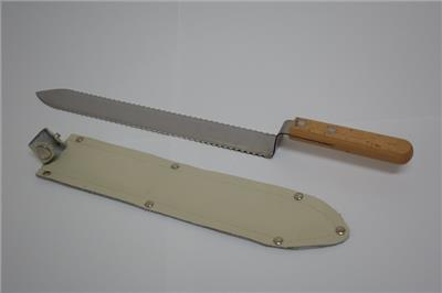 Uncapping knife - water heated